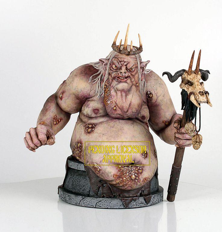 Der Hobbit Büste 1/6 Bilwisskönig 23 cm Der Hobbit Büsten - Hadesflamme - Merchandise - Onlineshop für alles was das (Fan) Herz begehrt!
