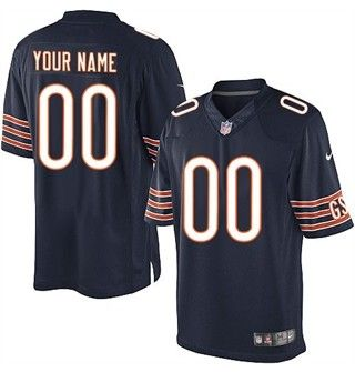 Chicago Bears Customized Limited Jersey