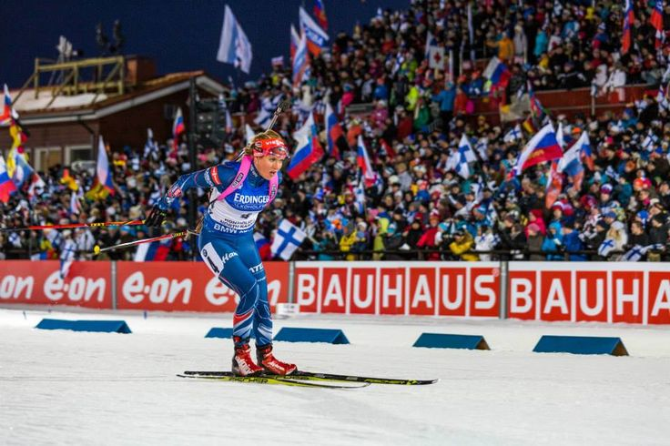 11.03.2015, Kontiolahti, Finland (FIN): Gabriela Soukalova (CZE) - IBU world championship biathlon, Individual Competition 15km, women, Kontiolahti (FIN),
