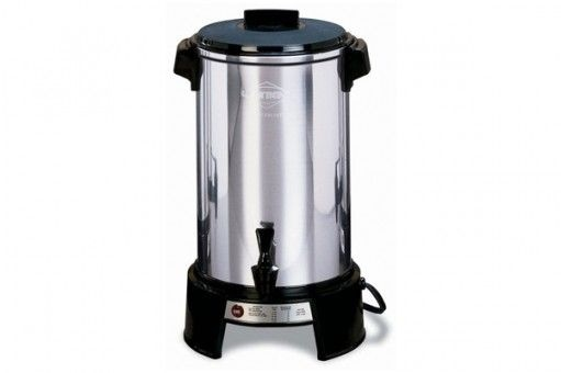 Coffee Percolator - 36 Cup. Easy to use.  No Filters required.