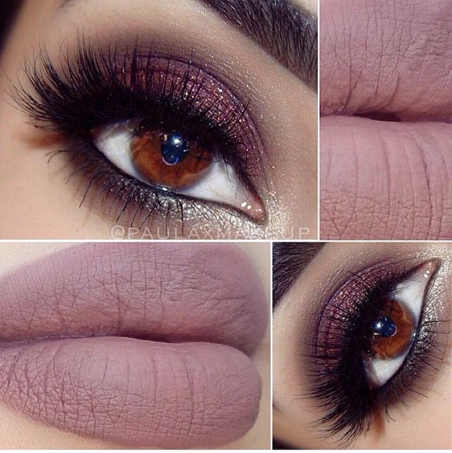 Cashmere lime crime. I have this color, might have to try a dramatic look like this one
