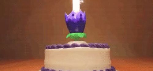 Birthday Cake Topper Candle