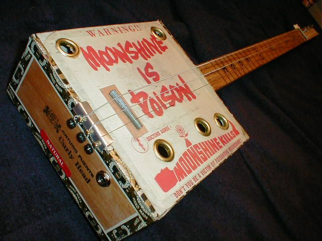 guitars made out of cigar boxes 1