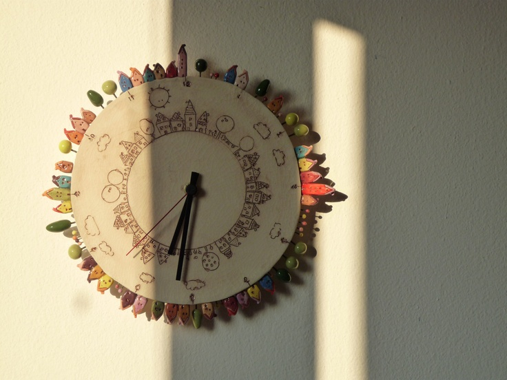 the finished clock