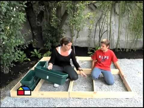 ¿Cómo hacer un deck en módulos? - Sodimac Homecenter Argentina - YouTube