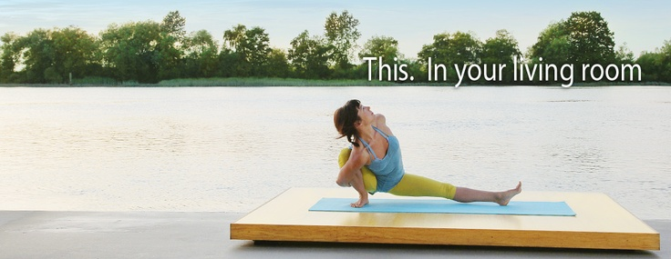 website with yoga and pilates videos available for download and online viewing