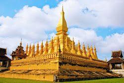 Estupa Pha That Luang en Vientián
