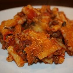 Spicy mince pasta bake @ allrecipes.co.uk