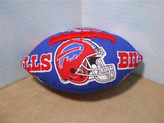 Miniature Buffalo Bills Football by TexasArtsyGals on Etsy, $5.00