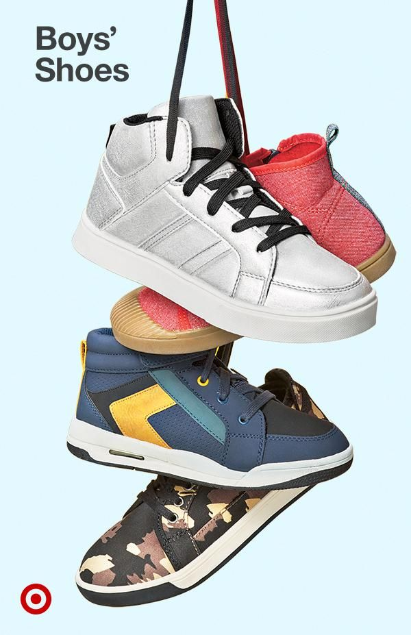 Find boys' shoes to complete his look