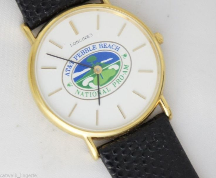 Longines Men's 1990 Pebble Beach Pro-AM Contestant Watch Click to find out more -  http://menswomenswatches.com/longines-mens-1990-pebble-beach-pro-am-contestant-watch/
