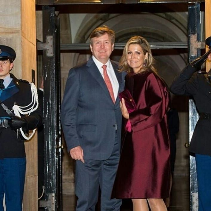 On the evening of 16th January 2018 King Willem-Alexander and Queen Máxima of the Netherlands…'