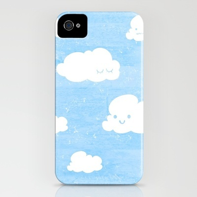 Weekends & #Clouds #Iphone Case @ Society 6  $14.04