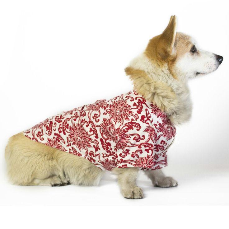 Гавайская рубашка для собак