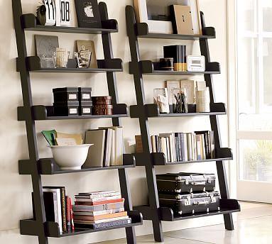 """PB Studio Wall Shelf in black for LR, 34"""" wide $359"""