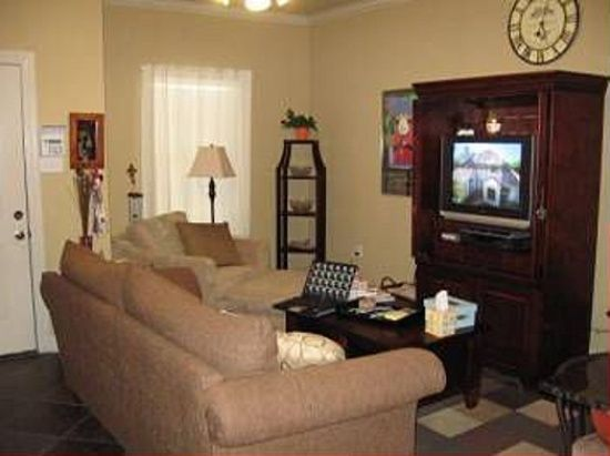 Baton Rouge Apartments  : Choose Your Location: Enchanting Baton Rouge Apartments With Modern Sofa And Living Room Table Also Tall Foor Lamp Next To The Small Window Installation Window Curtain As Well Tv Lift Cabinet Along With Wall Clock ~ surrealcoding.com Apartments Inspiration