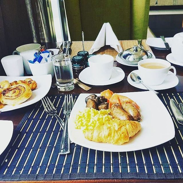 @mphon_21 started her day with this amazing breakfast at The Fairway Hotel, Spa & Golf Resort.