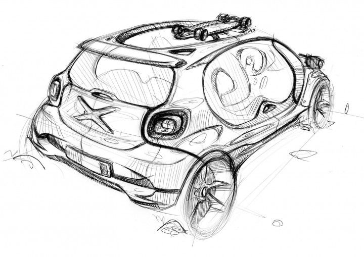 design sketch gallery  smart forjoy concept