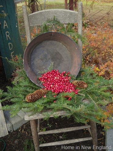 Rustic Christmas in the garden--now you're talking!