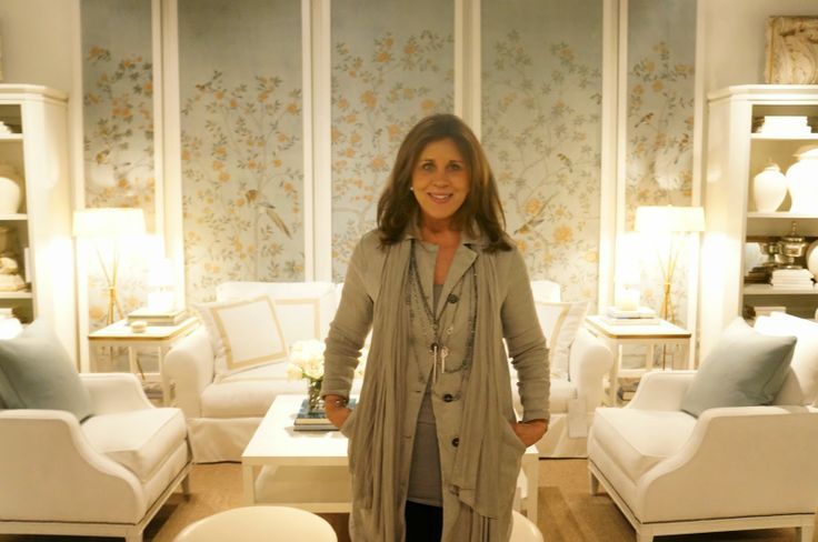 Suzanne Kasler At Her Gorgeous Showroom At Hickory Chair
