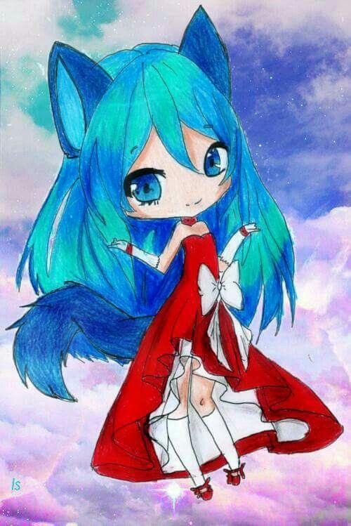 Chibi girl anime