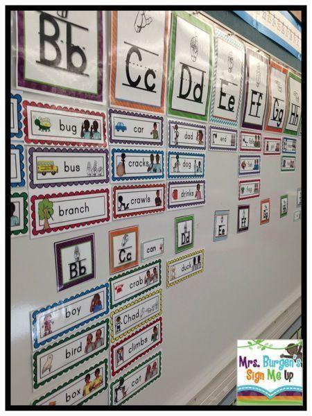 American Sign Language Classroom Decorations ~ Best classroom decor images on pinterest american