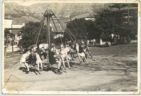 All sizes | Old style merry-go-round - Cape Town - circa 40's or 50's | Flickr - Photo Sharing!
