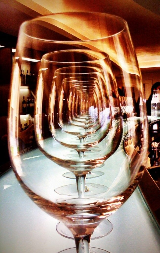 Wine Glass iPhoneography - Great photo essay of Italy by @Fluent Interaction Interaction In Frolicking