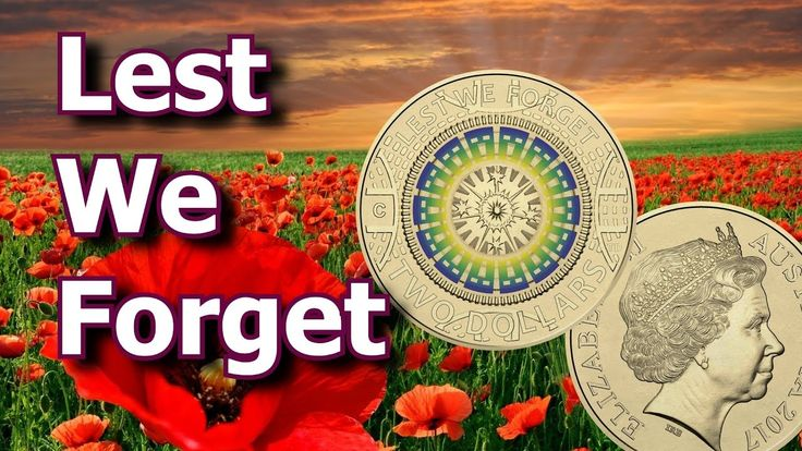 Australian 2017 'Lest We Forget' Anzac Commemorative Coin