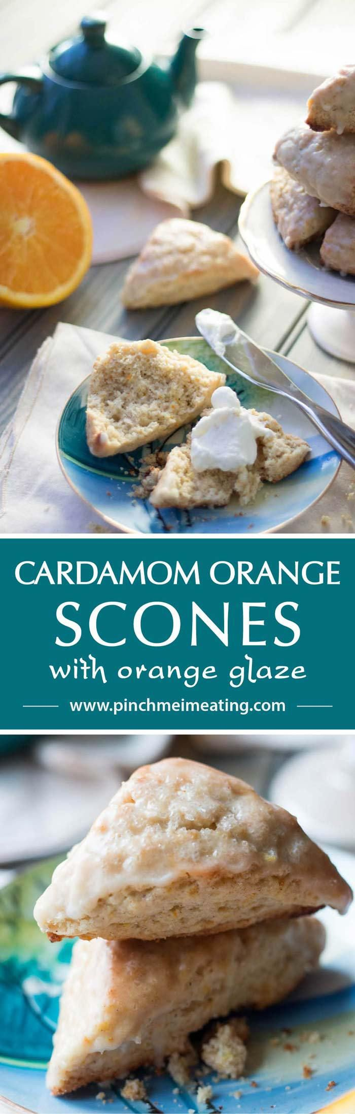 These fragrant cardamom orange scones have a delicate, fresh flavor and just the right crumbly-moist texture — the perfect treat for a bad-weather day.