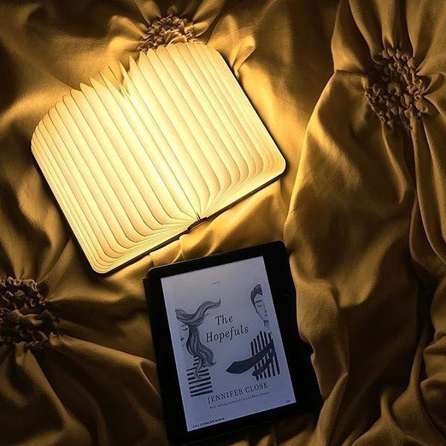 hellolumio.com - lamp in een hardcover boek