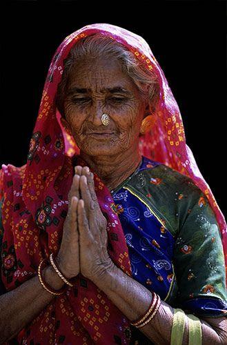 Namaste by C.Stramba-Badiali on Flickr.  Bhuj, Gujarat  India