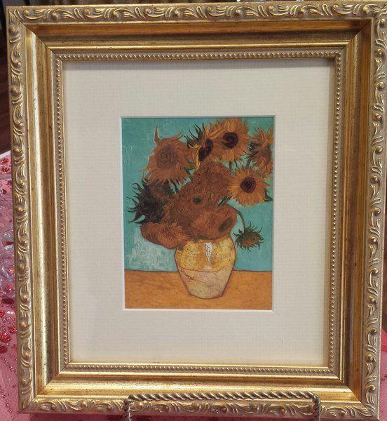 "Vincent Van Gogh Print ""Sunflowers"""