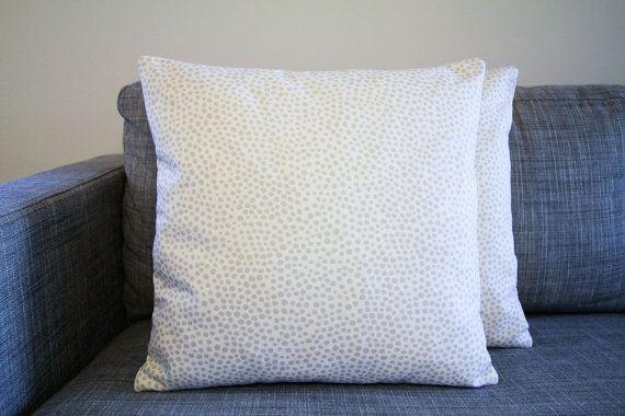 Coussins/couverture de Marimekko Pirput Parput en argent 45x45cm gris et blanc, (18 x 18 po), jeter des cas de coussin, oreiller, chambre d