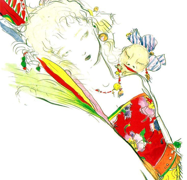 Terra Branford - Final Fantasy VI | Yoshitaka Amano