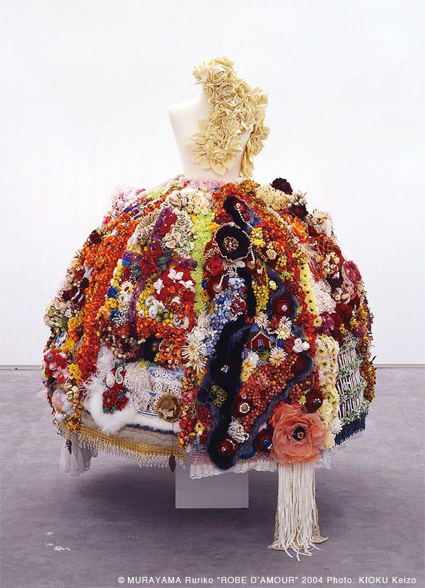 """Robe d'amour"" 2004 by Ruriko Murayama, Japan"