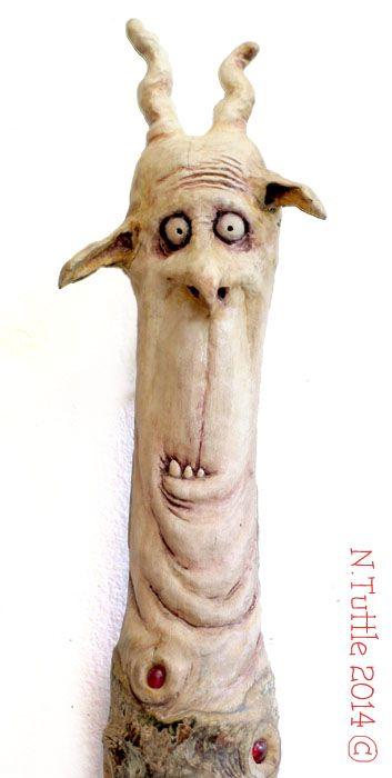 Stupid on a Stick by psychosculptor