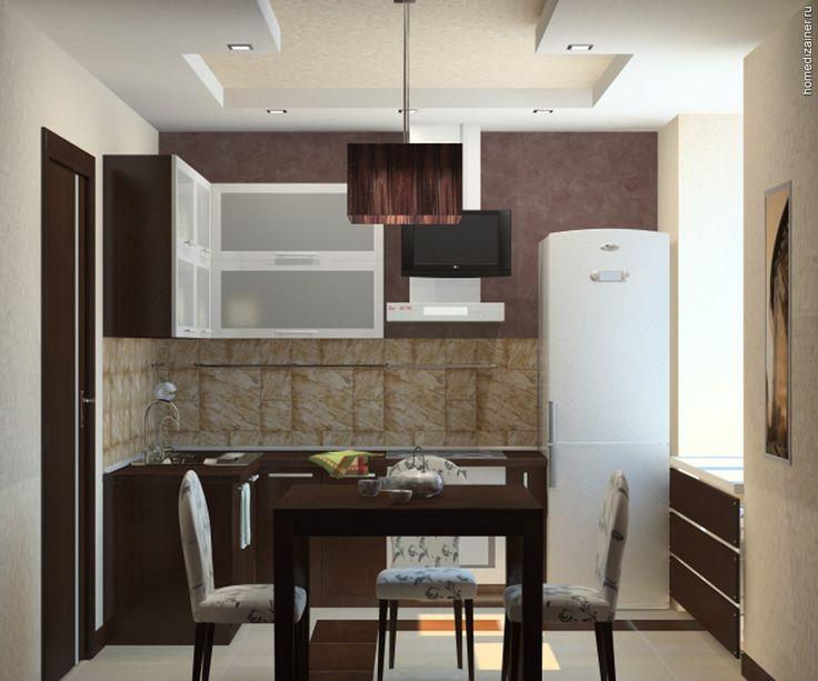 Маленькая кухня: как высвободить больше пространства