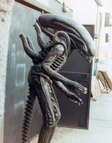 """Detrás de las cámaras de """"Alien, el Octavo Pasajero"""""""