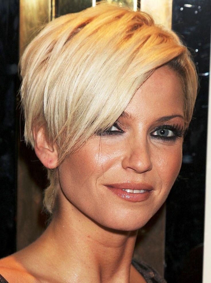 Sarah Harding Short Hair Cut