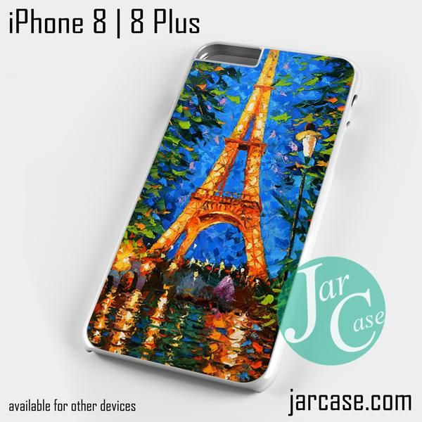 Paris Effel Tower in Abstract Phone case for iPhone 8 | 8 Plus