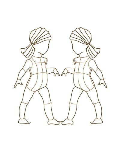 Children Fashion Figure Croqui 001 | sketches | Pinterest ...