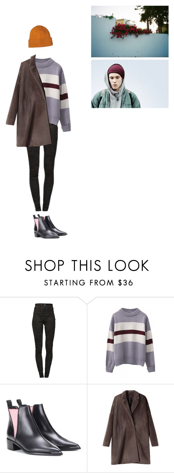 """Без названия #1916"" by asmin ❤ liked on Polyvore featuring Isabel Marant, WithChic, Acne Studios, Zero + Maria Cornejo, Patagonia, men's fashion, menswear, even, skam and isak"