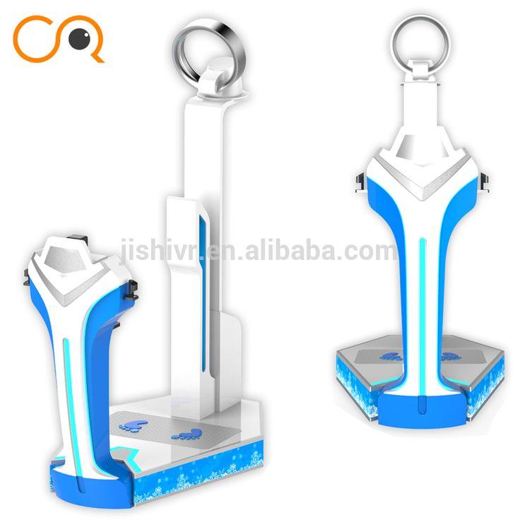 Factory price amusement park equipment 9d Vr Machine vr skiing simulator HTC vive glasses vr games amusement park for sale