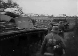 Images from the Deutsche Wochenschau, of german units operating in the Battle of Moscow, november 1941.