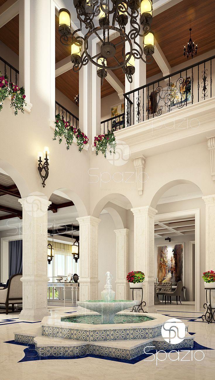 Luxury Interior Design Of Palace House In Dubai