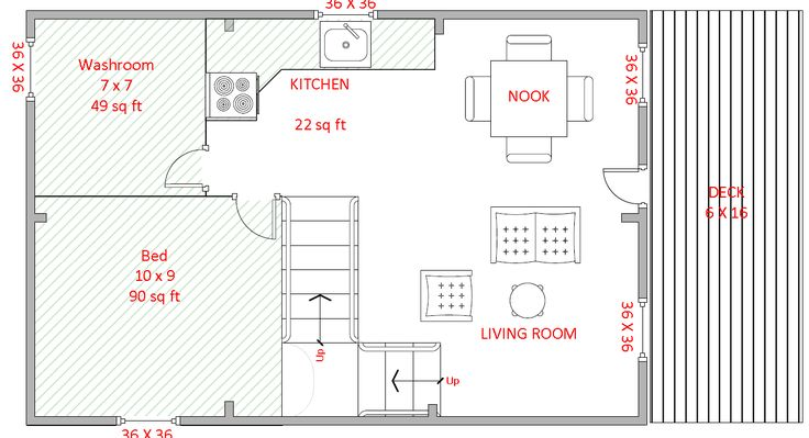 15 best images about floor plans on pinterest house for 16 x 48 house plans