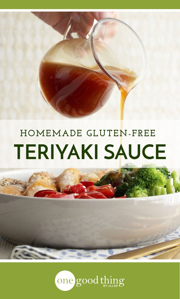 Learn how to make gluten free teriyaki sauce right in your own kitchen! It's simple, affordable, and tastes WAY better than the store-bought stuff!