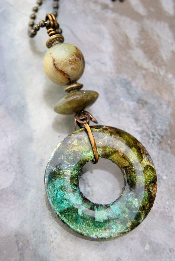 how to make washer jewelry