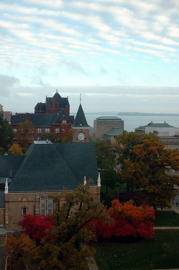 Bascom Hill @ University of Wisconsin